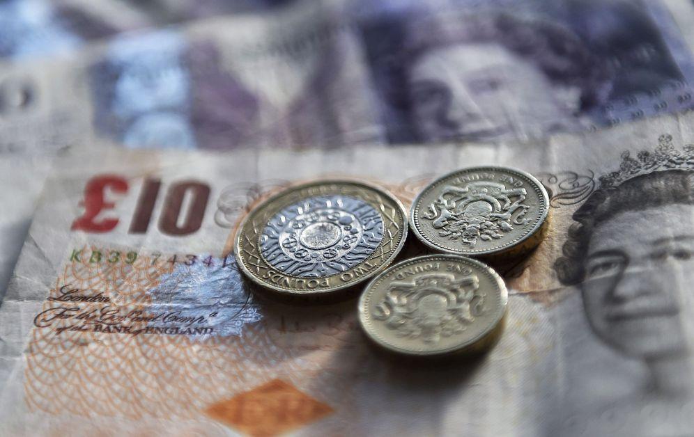 Foto: La libra esterlina sigue marcando mínimos. (EFE)