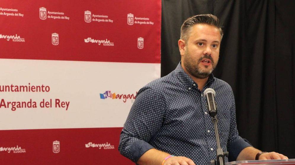 Foto: Francisco Javier Rodríguez, concejal en Arganda del Rey.