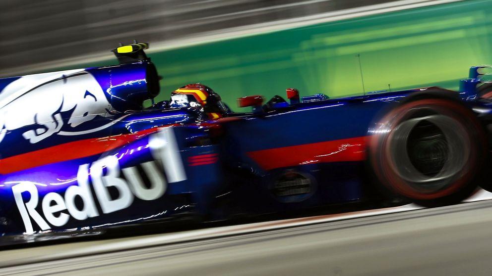 Sainz exprime su Toro Rosso y logra un décimo puesto en parrilla en Singapur
