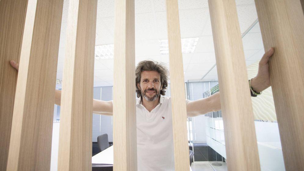 Foto: Pedro Serrahima, exjefe de Pepephone y máximo responsable de O2 España y Tuenti. (Foto: Enrique Villarino)