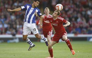 La Real Sociedad solventa el pase tras un susto que arregló remontando al Aberdeen