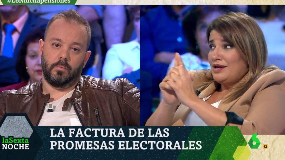 Bronca entre Antonio Maestre y María Claver: Los tontos discuten hechos