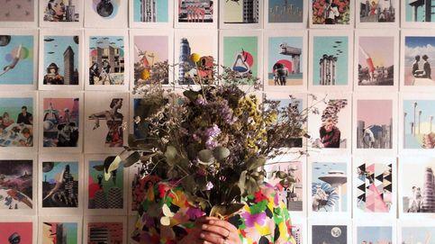 Arquitectura, ovnis y heroínas: la artista Lara Lars descontextualiza a la mujer florero