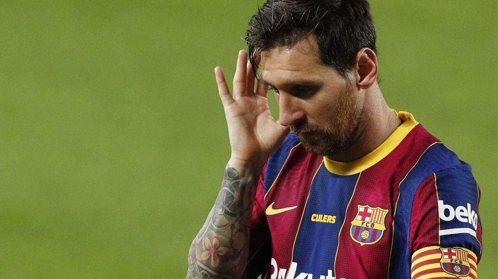 Foto: Messi, esta pretemporada. (Reuters)