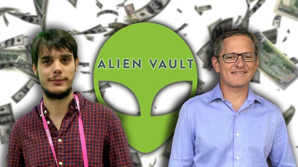 Foto: Jaime Blasco y Julio Casal han sido dos de los pilares del éxito de Alienvault. (Montaje: R. C.)