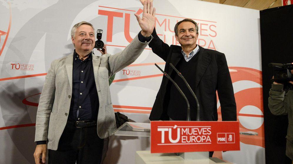 Foto: José Blanco y José Luis Rodríguez Zapatero. (EFE)