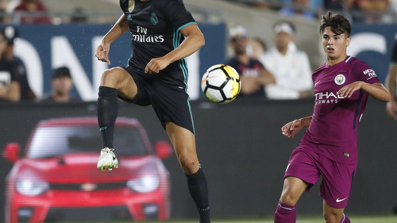 Marcos Llorente jugó la pasada temporada cedido en el Alavés. (EFE)