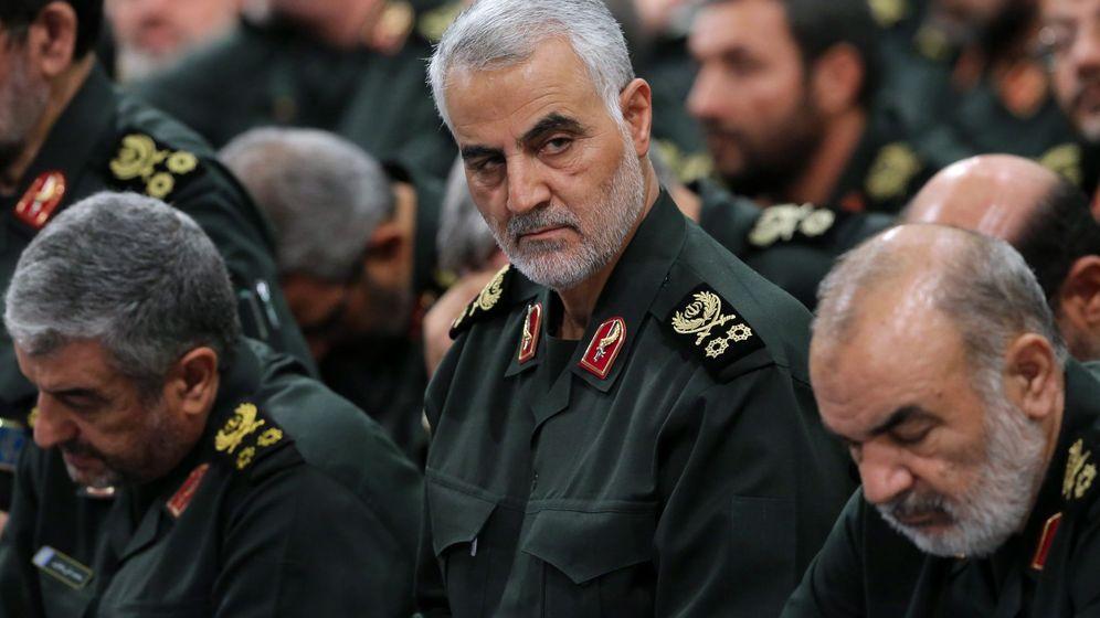 Foto: El comandante Qassem Soleimani. (Reuters)