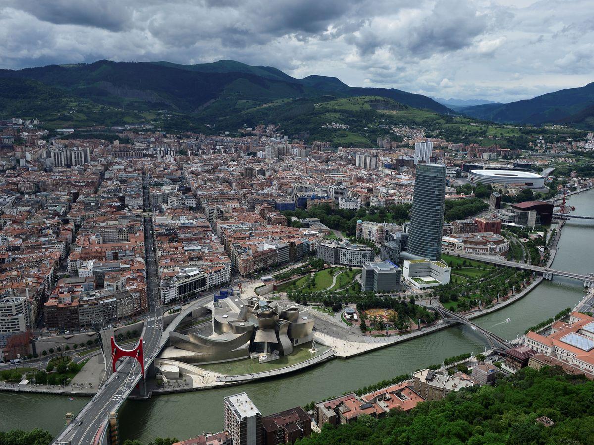 Foto: Vista de Bilbao desde el aire. (Reuters)