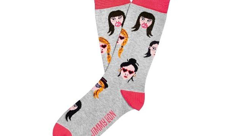 Calcetines Hipster Girls de Jimmy Lion (10 euros).