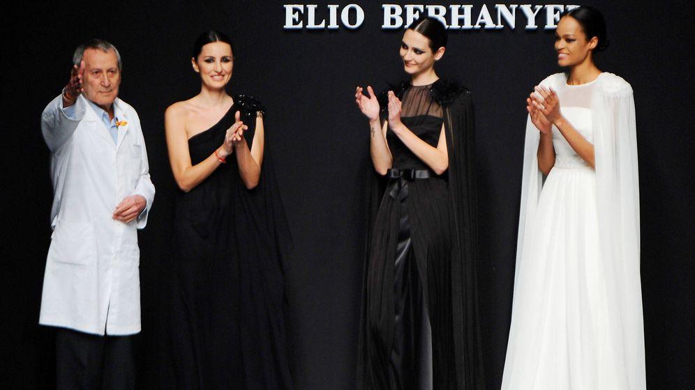 Foto:  Elio Berhanyer en Cibeles Fashion Week 2010. (Getty)