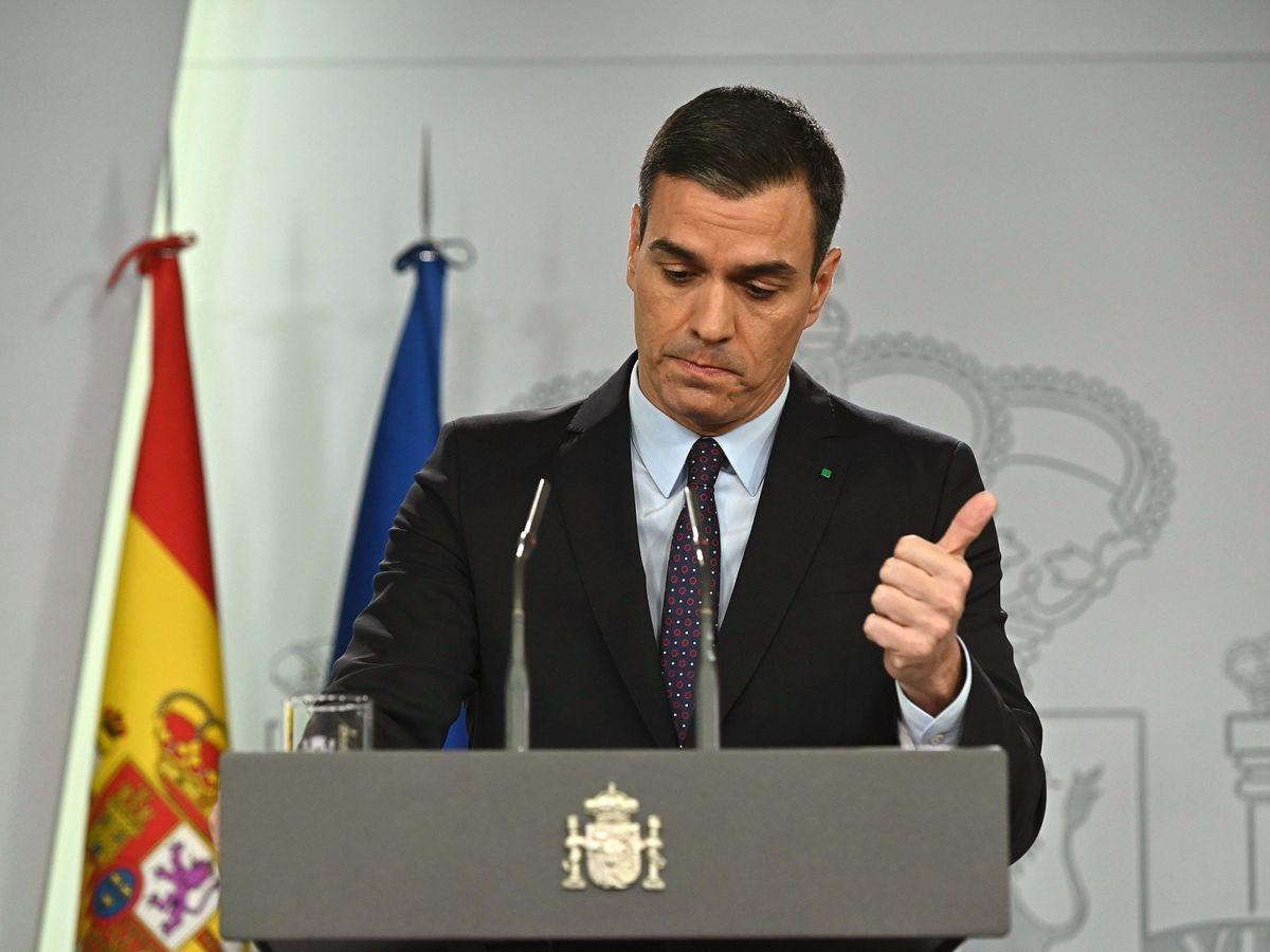 Foto: El líder del PSOE y presidente del Gobierno en funciones, Pedro Sánchez. (EFE)