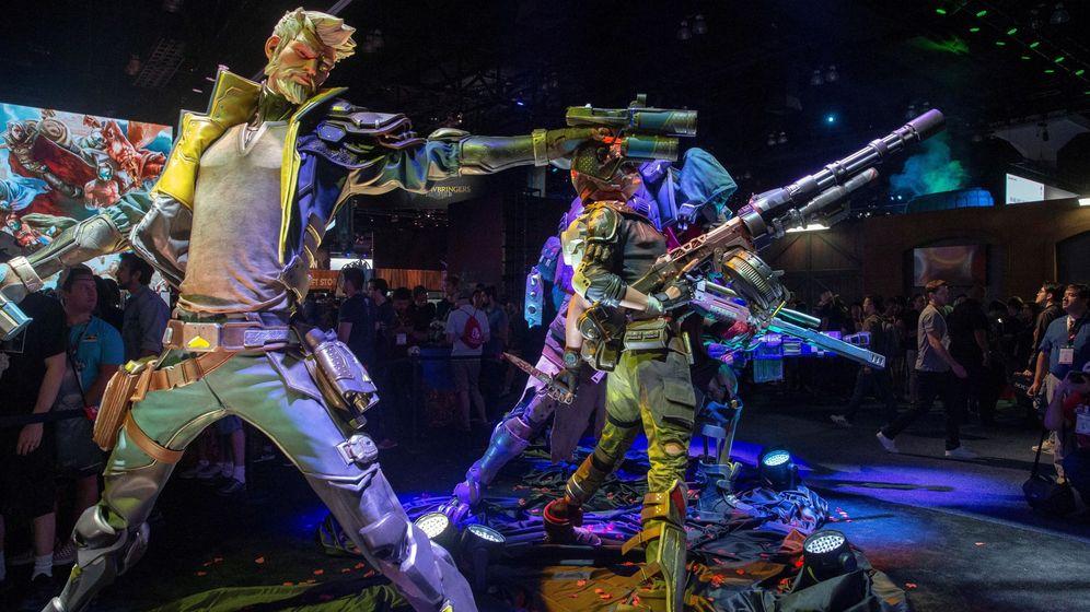 Foto: Feria e3, el encuentro de videojuegos más importante del mundo