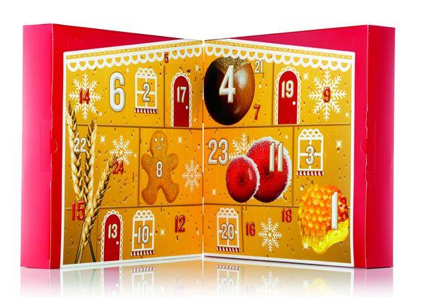 Foto: Calendario de Adviento de The Body Shop, con sus mejores productos en versión mini.