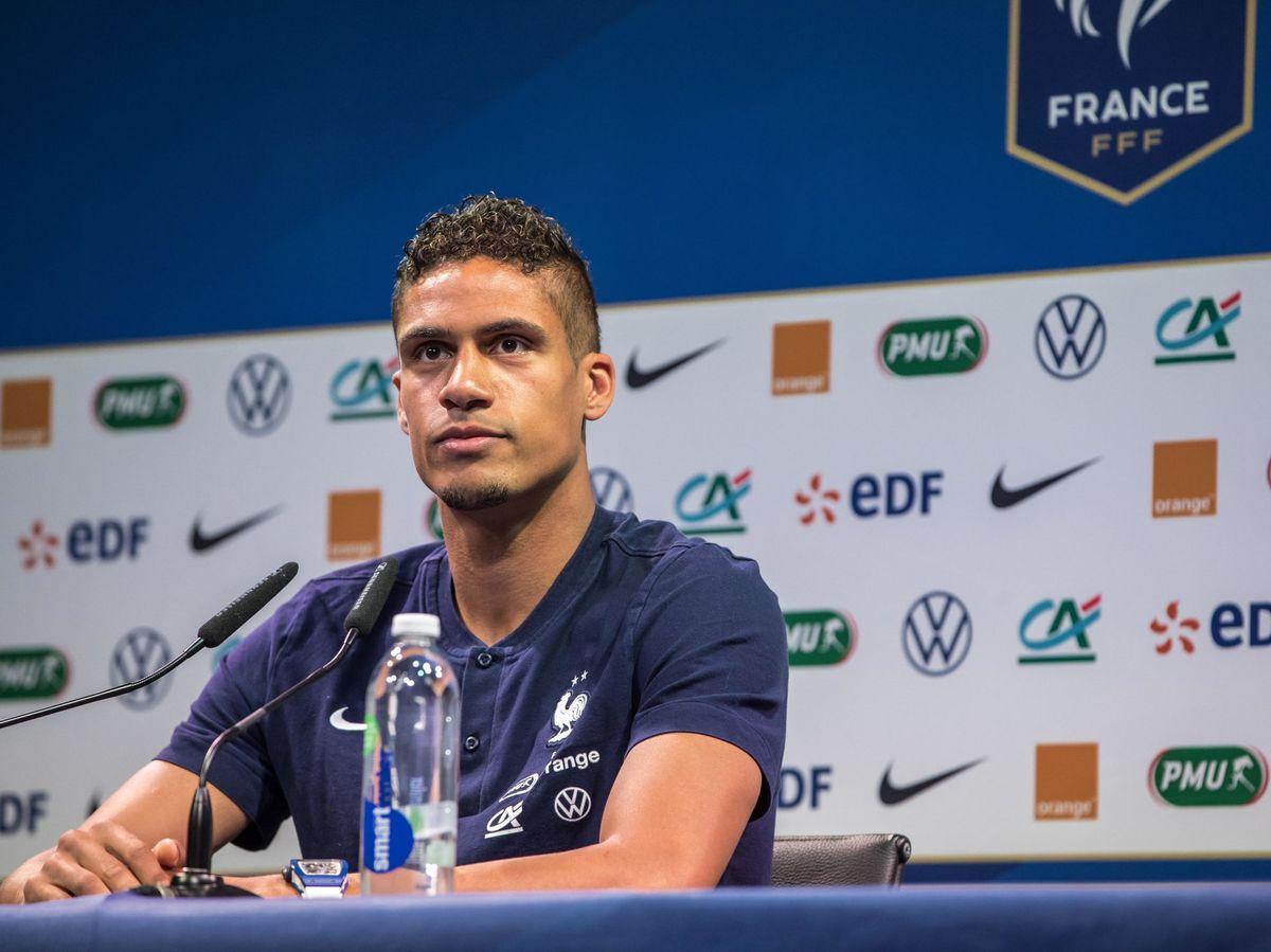Foto: El futbolista Raphaël Varane. (EFE)