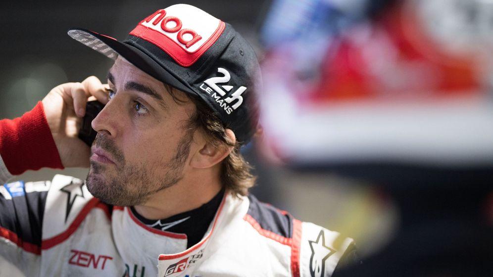 Foto: Alonso afronta este fin de semana con Toyota en Sebring (EEUU) la segunda carrera más larga del WEC. (EFE)