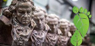 Post de Los Premios Goya 2020, acreditados por su compromiso contra el cambio climático