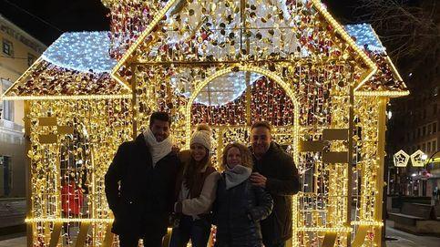 Paula Echevarría y Miguel Torres: amor, humor y besos por Navidad