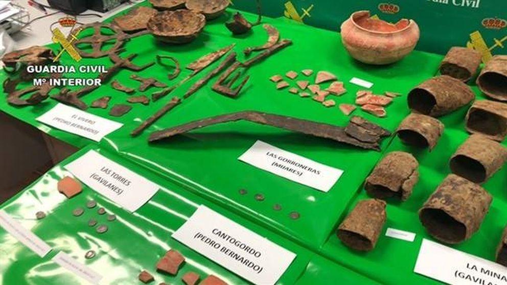 Recuperadas 257 piezas de gran valor arqueológico expoliadas hace 30 años