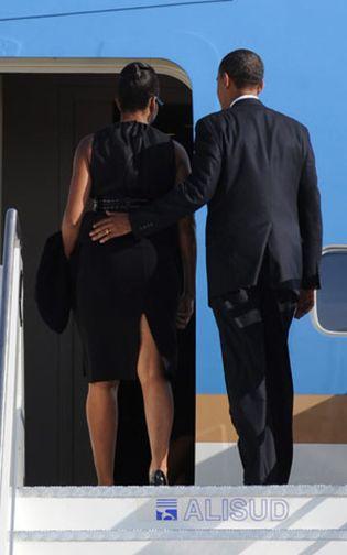 Foto: Obama llega a Ghana en su primera visita al África Subsahariana