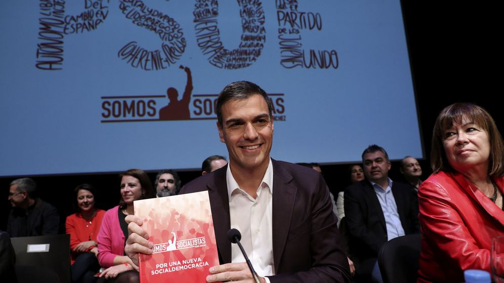 Foto: El candidato a la secretaría general del PSOE Pedro Sánchez. (EFE)