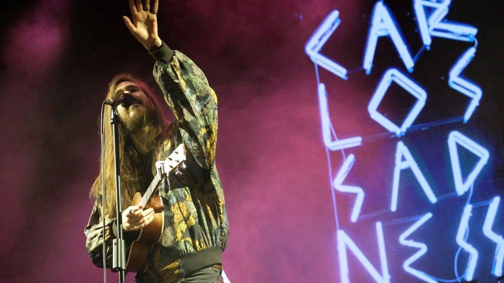 Foto: Carlos Sadness, durante un festival de música. (EFE)