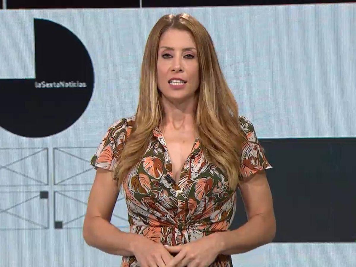 Foto: Isabel Zubiaurre, meteoróloga de La Sexta. (Atresmedia)