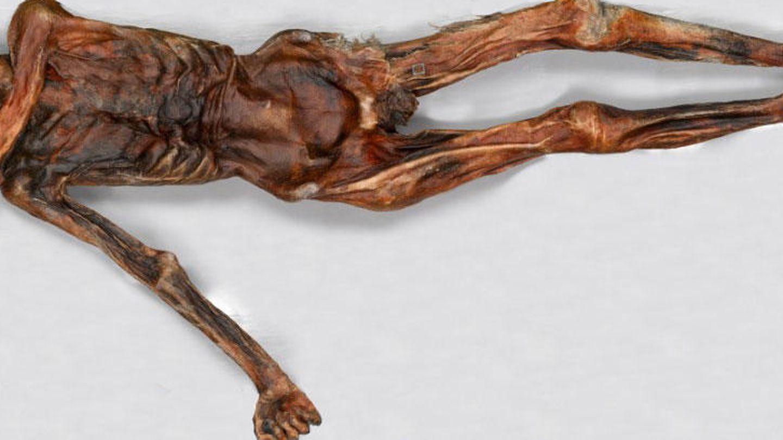 Ötzi, un increíble estado de conservación para sus 5.300 años de edad