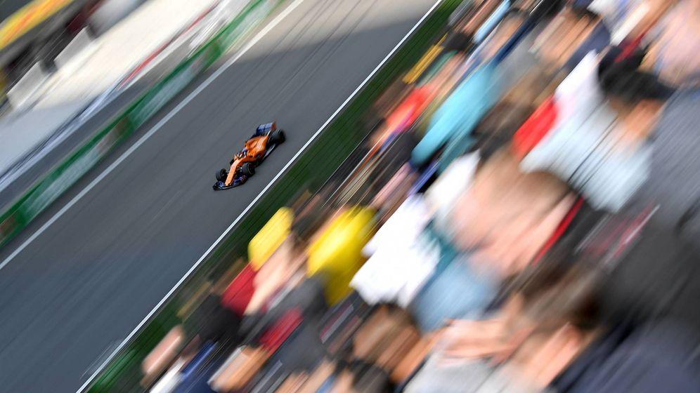 Foto: Fernando Alonso terminó séptimo en el Gran Premio de China de F1. (Imago)
