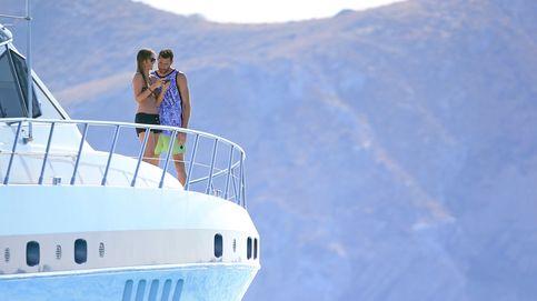 Helen Lindes y Rudy Fernández, luna de miel en alta mar