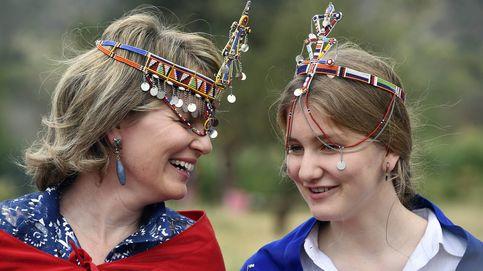 Elizabeth de Bélgica: una 'princesa masái' que se 'estrena' ante los micrófonos