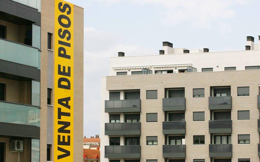 Foto: Promoción inmobiliaria en Huesca. (EFE)