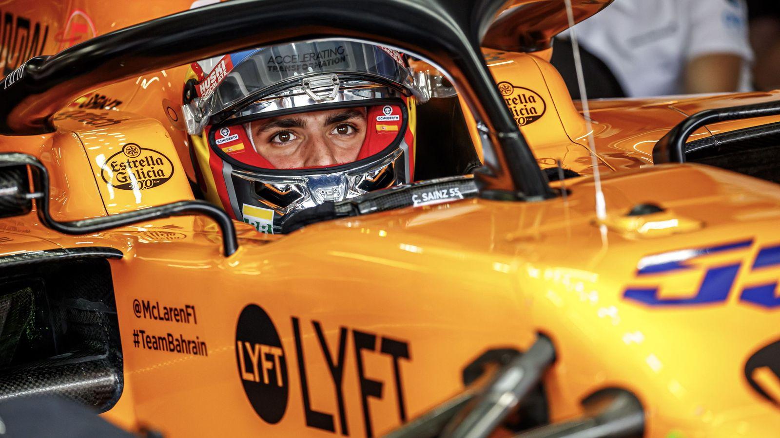 Foto: Carlos Sainz en su McLaren MCL34. (EFE)
