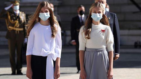 Leonor y Sofía llaman la atención de la prensa europea por su estatura y estilo