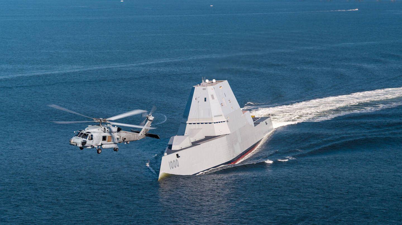 USS Zumwalt (DDG 1000). (US Navy)