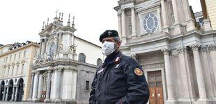 Post de Italia reduce ligeramente el incremento de contagio tras dos semanas de confinamiento