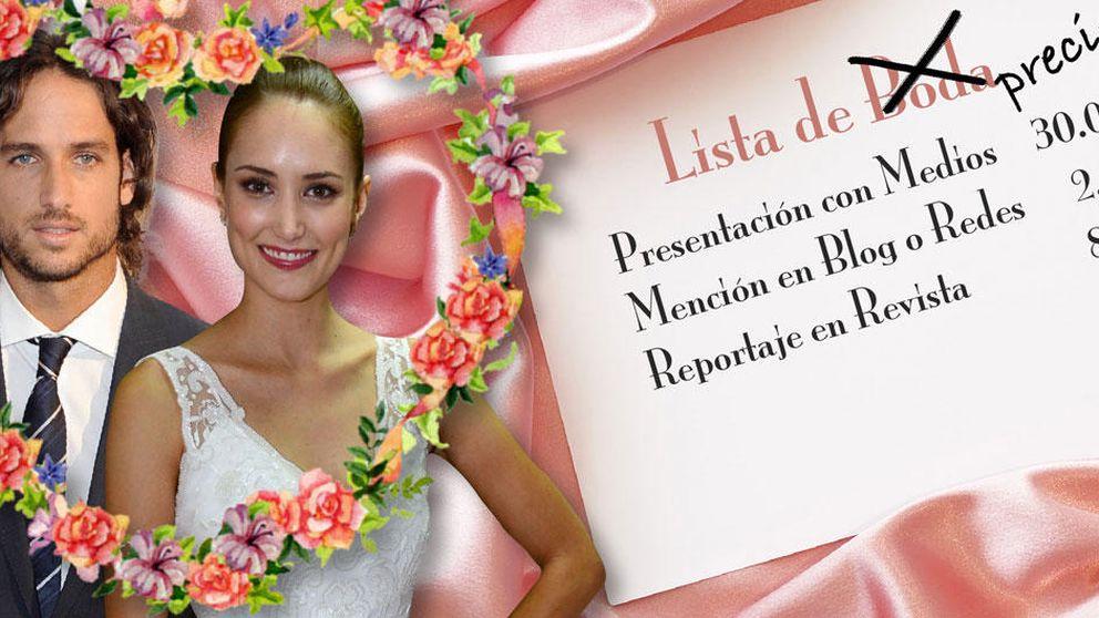 Alba Carrillo y Feliciano López: una gran boda, un gran negocio