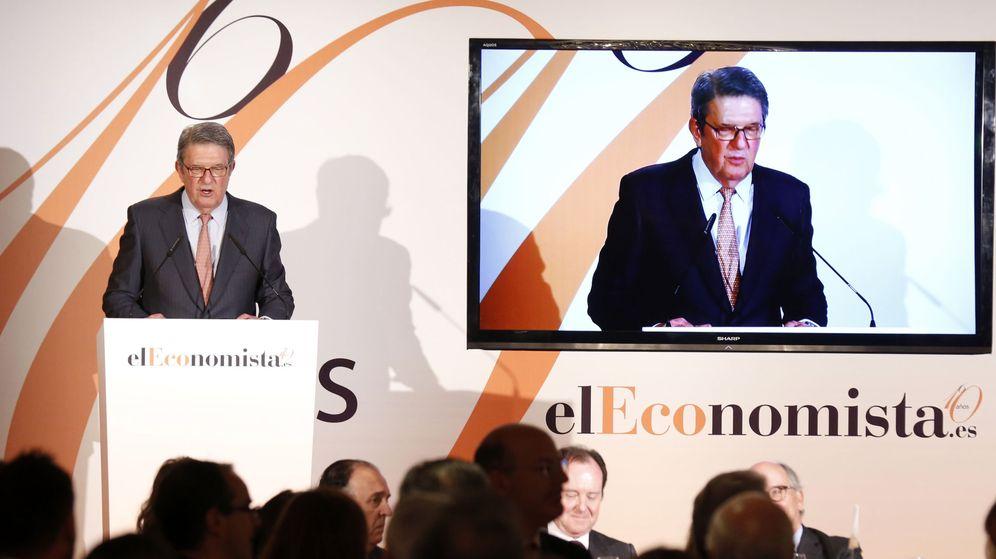 Foto: El presidente de la editorial Ecoprensa, editora del diario 'El Economista', Alfonso de Salas. (EFE)