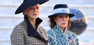 Post de Carolina y Charlène, las Meghan y Kate de Mónaco: evitan coincidir en la agenda