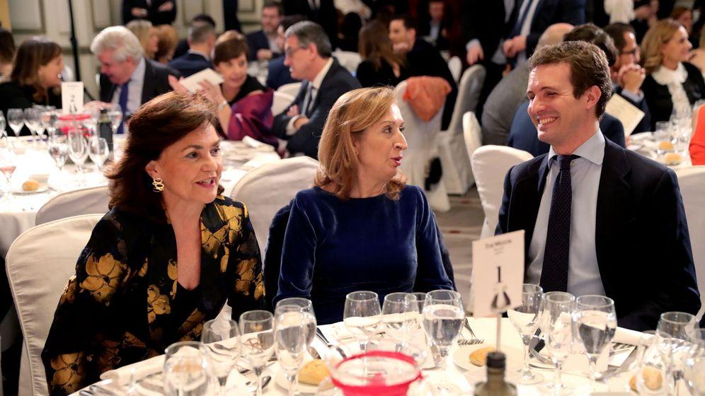 Foto: Entrega de los Premios de la Asociación de Periodistas Parlamentarios. (EFE)