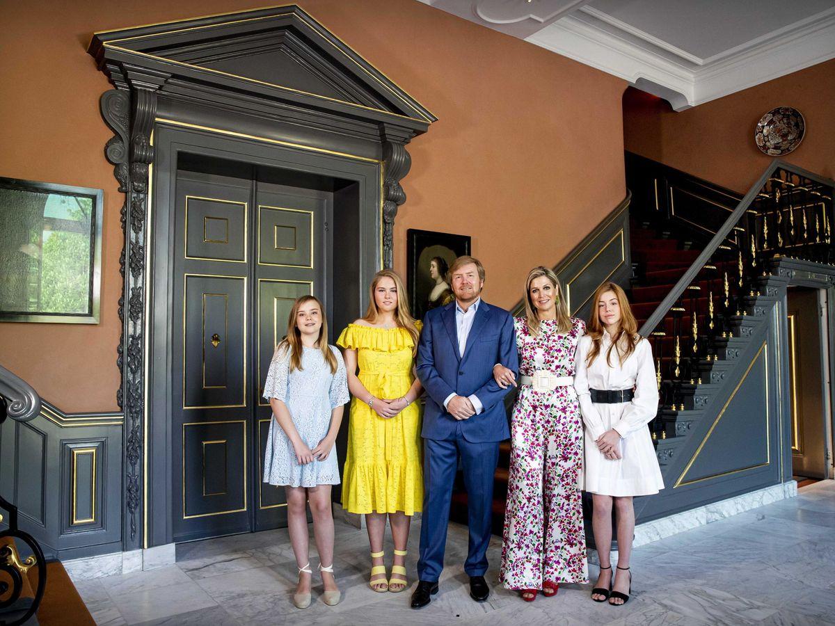 Foto: La familia real, celebrando el último Día del Rey. (EFE)