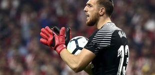 Post de El Atlético se acerca a Courtois porque asusta la fuga de Oblak