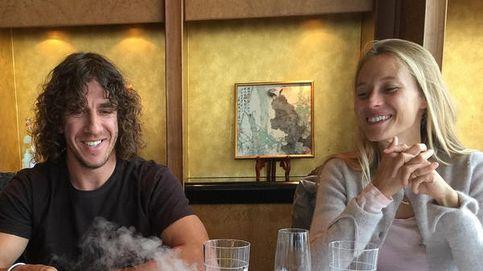 Instagram – Puyol celebra sus 37  en Shanghái con Vanessa Lorenzo