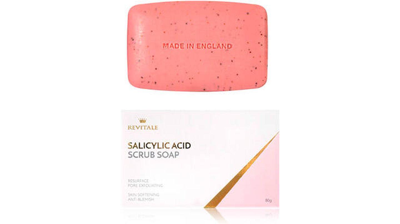 Jabón exfoliante con ácido salicílico Revitale