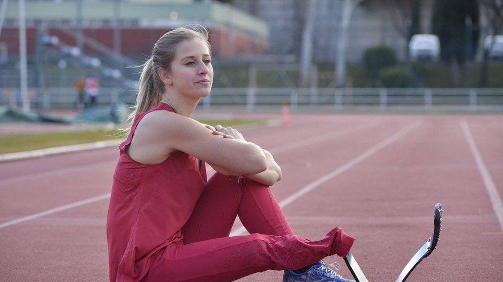 Foto: Desireé Vila comenzó su carrera deportiva en la gimnasia, para pasar al atletismo tras la pérdida de su pierna derecha.