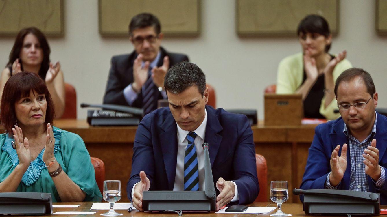 Sánchez confirma a López como candidato a presidir el Congreso e insiste en el no a Rajoy