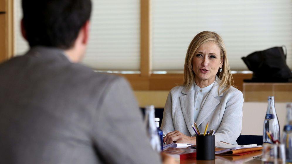 Foto: Ignacio Aguado se reúne con Cristina Cifuentes. (EFE).