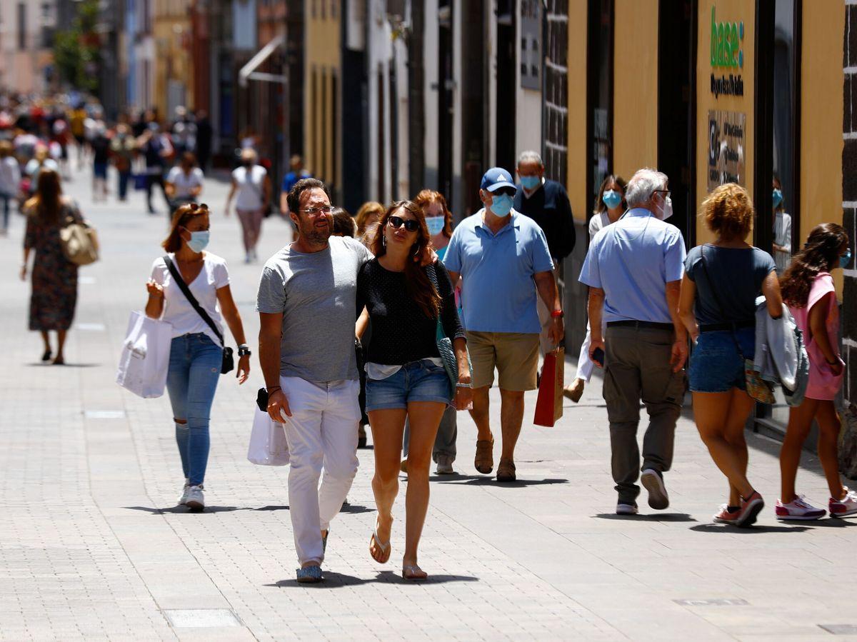 Foto: Restricciones del nivel de alerta 4 en Canarias. Foto: Reuters