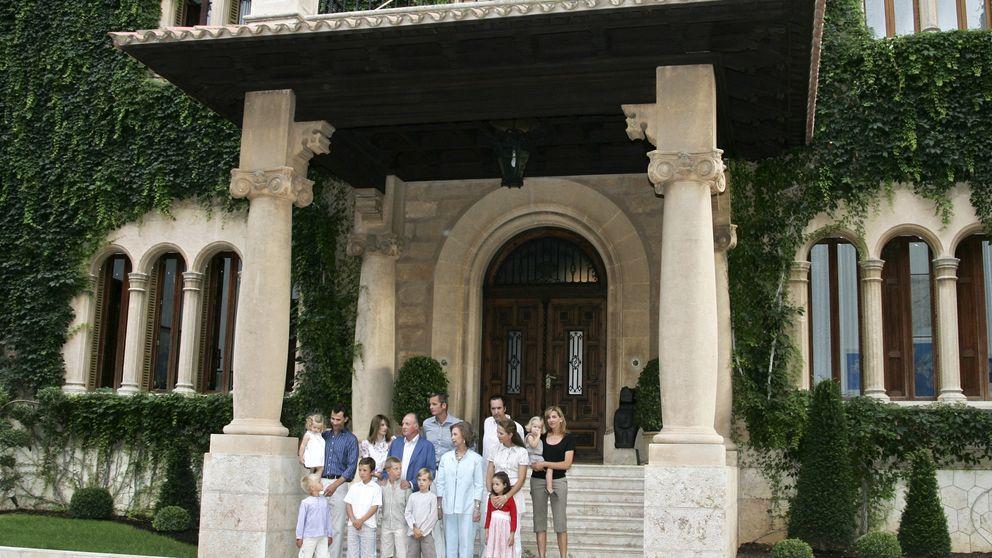 El palacio de Marivent, al 25% de ocupación