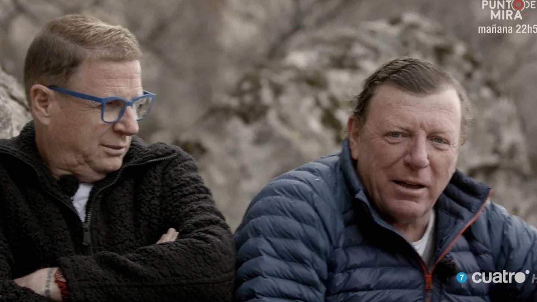 Jorge y César Cadaval (Los Morancos), en 'Planeta Calleja'. (Cuatro)